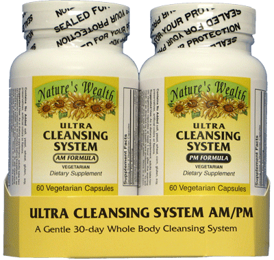 Ultra Cleansing System Body Cleanse Detox Nature S